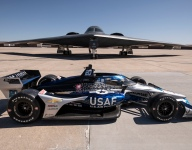 A stealth bomber-inspired livery for Daly's ECR Chevy