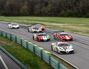 MacNeil cruises to victory at VIR in Ferrari Challenge NA opener