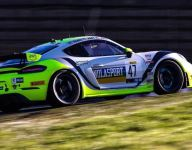 Travis, Hart, are GT4 America Race 1 victors at Sonoma