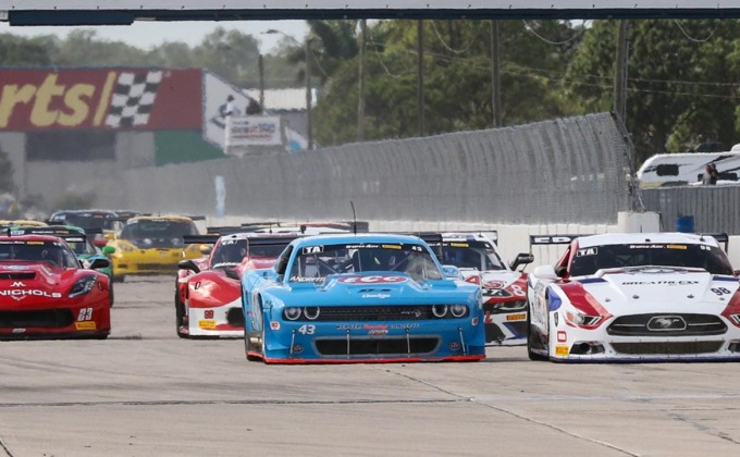 Trans Am TA/SGT/GT Sebring race replay