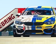 Turner's 'ZEBRing' livery to merge real, sim racing worlds at Sebring
