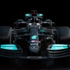 Mercedes reveals 2021 F1 car but hides development
