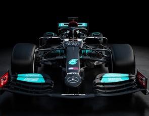 Mercedes reveals 2021 F1 car but hides development