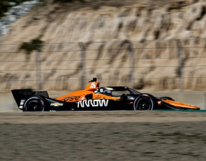 O'Ward sets the pace at Laguna Seca IndyCar test