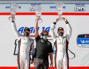 Rebel Rock crew holds off Wright Porsche for Sebring Pilot Challenge win