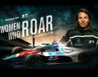 MoneyLion backing for Simona De Silvestro at Indy 500
