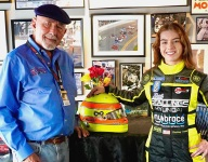 Courtney Crone awarded the Gorsline Scholarship for Young Racers