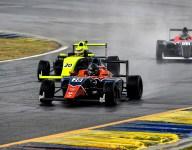 F4 U.S. and FR Americas open 2021 battling weather at Road Atlanta