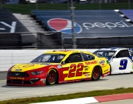Logano leads Martinsville Cup field