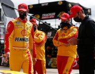 Logano after flip: 'We have to fix' superspeedway racing