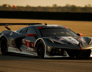 Corvette working on GTD Pro conversion kit