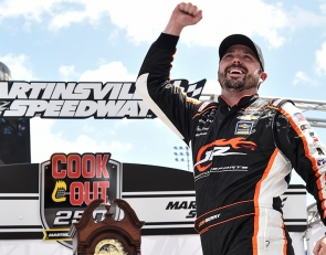 Berry scores first Xfinity Series win at Martinsville