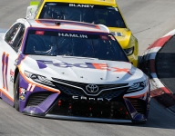 Losing late lead 'was a matter of time' - Hamlin