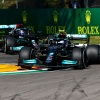 Bottas leads opening Imola practice amid crash fest