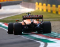 Track limits error drops Norris from P3 to P7