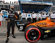 O'Ward rockets to pole for IndyCar opener at Barber