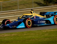 IndyCar's rookie brigade show class at Barber