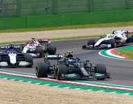 Russell furious with Bottas after Imola collision