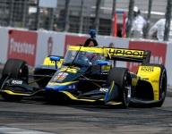 Herta beats Harvey for St Petersburg IndyCar pole