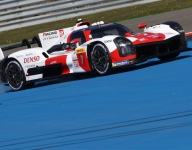 Kobayashi leads WEC front row lockout by Toyota Hypercars at Spa