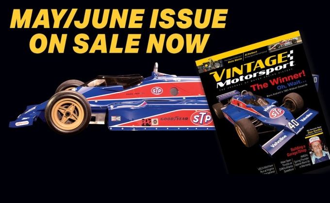 Vintage Motorsport's 2021 May-June Issue spotlights Indy 500 history