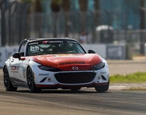 Carter dominates Mazda MX-5 Cup Race 2 at St. Petersburg