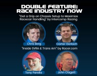 RACE INDUSTRY NOW: Chassis setup & SVRA/Trans Am webinars