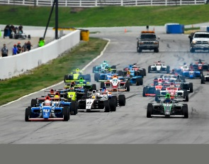 Replay: F4 U.S. drivers battle the elements in Road Atlanta finale