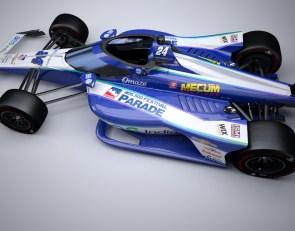 DRR unveils Karam's Indy 500 warpaint