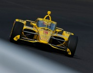McLaughlin embraces first serious running at Indy