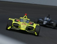 Speeds increase as testing resumes at Indy