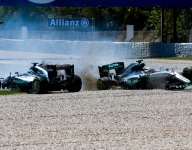 Wolff reveals he threatened Hamilton and Rosberg with race bans