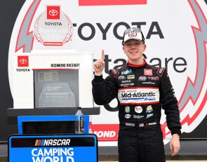John Hunter Nemechek leads KBM 1-2-4 finish at Richmond