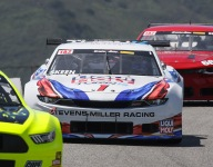 Skeen earns pole, sets new track record in Trans Am qualifying at Laguna Seca