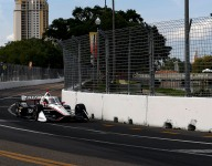 Newgarden sets the pace in IndyCar St Petersburg practice