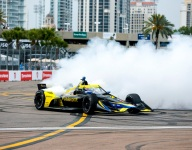 Herta brings the heat in St Pete