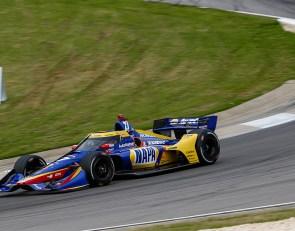 Rossi tops second Barber IndyCar practice
