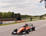 Lundqvist wins Indy Lights Race 1