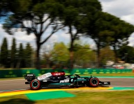 Hamilton tops Perez for Imola pole