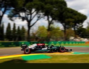 Hamilton tops Perez for Imola pole