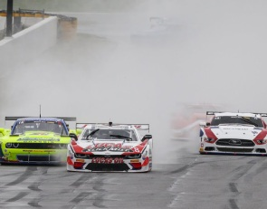 Race replay: Trans Am battles Mother Nature at Road Atlanta