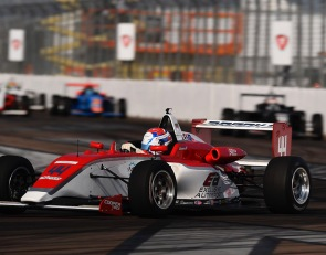 Brooks jumps to USF2000 points lead with St. Pete double