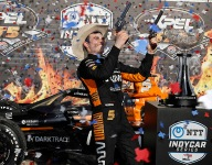 O'Ward surges late for first-ever IndyCar win in Race 2 at Texas