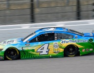 Pit strategy put Harvick 'on offense' for Kansas runner-up