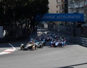 Last-lap pass wins Monaco E-Prix for da Costa