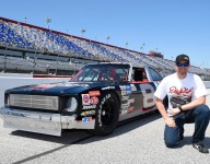 Earnhardt Jr paces Darlington in his father's Nova