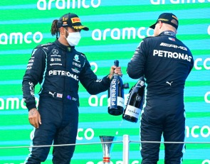 'I'm not here to let people by' - Bottas