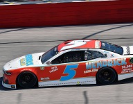 Larson 'maybe too patient' battling Truex Jr for the win