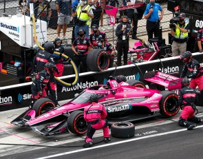 Harvey's promising Indy GP fades with disastrous pit stop