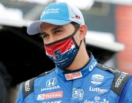 Rahal leads opening practice of Indy 500
